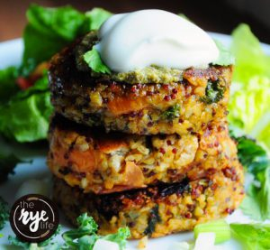 The RYE Life January Superfood Burgers